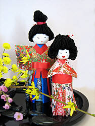 Design 2 closeup of Hina Dolls